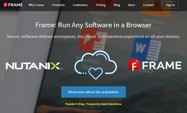 Frameは Citrix, VMware, Amazon Workspaces, Microsoft RDSとは何が違うのか?